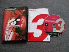 VIDEOJUEGOS PS2 - GRAN TURISMO 3 - NTSC - JAPONES - COMPLETO - SONY PLAYSTATION