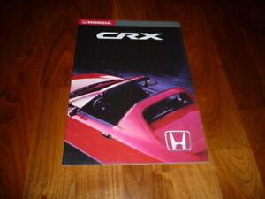 Honda CRX Prospekt