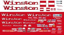 Whit Bazemore Winston Funny Car 1997 Mustang 1/64th HO Scale Slot Car Decals