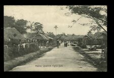 British Cwlth Africa Southern Nigeria Native Quarters OGBE JJOH 1910 PPC