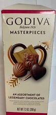 Godiva Masterpiece Belgium Assort. Legendary Chocolates 7.3 Oz