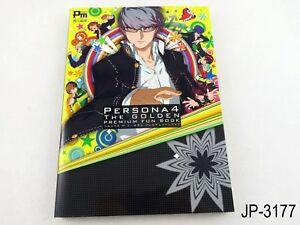 Persona 4 The Golden Premium Fanbook Japanese Artbook Japan Fun Book US Seller