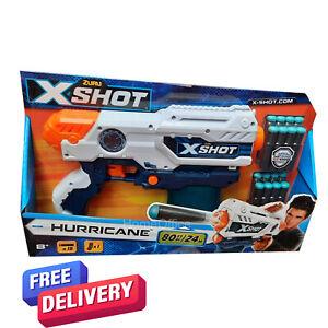 Zuru Hurricane X-Shot Dart Firing Gun With 16 Foam Darts