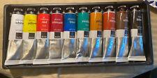 Blick Oil Color Studio Set, 10 Tube Set 38ml Tubes