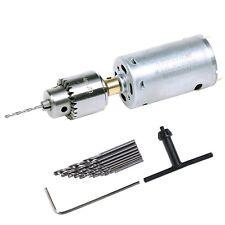 Mini DC 12V Electric Hand Drill Motor PCB Press Drilling Compact Set 0.5-3mm Twi