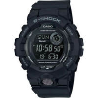 Casio Men's Watch G-Shock G-Squad Ana-Digi Dial Black Strap GBD800-1B