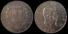pci746) Regno Vittorio Emanuele II  lire 5 scudo 1870