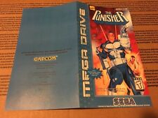 Color Custom Manual THE PUNISHER Mega Drive PAL Version - AAA+++