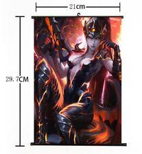 """Hot Japan Anime Overwatch Widowmaker Home Decor Poster Wall Scroll 8""""x12"""" FL890"""