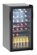 Bartscher Flaschenkühlschrank 88 Liter 28 Flaschen - 700082G