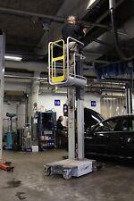 More details for safelift ad30 indoor mast lift / scissor lift / mewp / vertical pillar lift