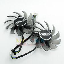 FOR ASUS GTX680 GTX690 GTX660 670 graphics card dual fan FD7010H12S 0.35A 75MM