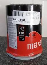 Maxell 275611 DVD-R 4.7GB 100 Pieces