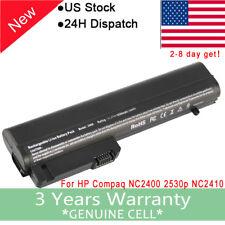 Battery for HP EliteBook 2530p 2540p COMPAQ NC2400 2400 2533t HSTNN-FB22 EH767AA