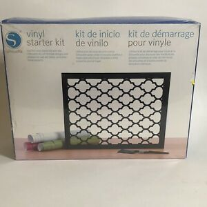 Silhouette Vinyl Starter Kit Bundle - New Sealed