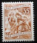JUGOSLAVIA 1951: ORDINARIA ATTIVITA' 2°SERIE VALORE 35d COME DA FOTO