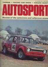 AUTOSPORT 14th GENNAIO 1971 * FIAT 124 COUPE 1600 PROVA SU STRADA *