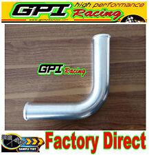 "63mm 2.5"" 90 Degree Elbow Aluminum Turbo Intercooler Pipe Piping Tubing"