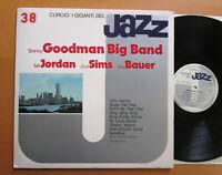 Benny Goodman Big Band Zoot Sims Live 1958 NEAR MINT I Giganti Del Jazz 38