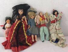 Lot Vintage Small Dolls hard plastics dancers mix sizes valuable dolls
