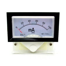 Instrument 85C17 DC 0-100mA AMP Analog Panel Meter Ammeter