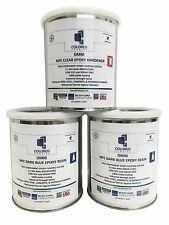 DARK BLUE EPOXY PAINT 2:1 PART FOR GARAGE FLOOR,BASEMENT &CONCRETE.3 QUART KIT