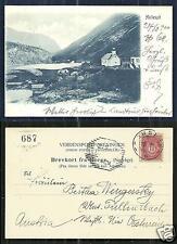 Hellesylt Stranda Møre og Romsdal Norway Norge stamp 1899