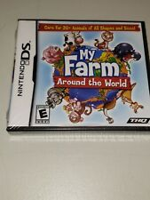 My Farm Around the World (Nintendo DS, 2009) Rated E New/Sealed