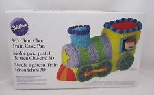 Wilton Industries 3 D  Choo Choo Train Pan Set NEW