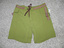 Vast Mens Board Shorts Size 34 Style 02AB042B Moss Green NWT