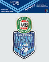 NSW Blues State of Origin iTag See-Thru Decal Sticker