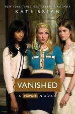 Vanished (Private), Kate Brian, Good Condition, Book