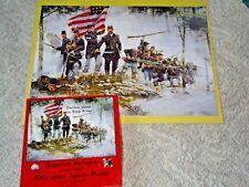 Bayonet! Forward Civil War Jigsaw Puzzle Oversize Pieces 500+ Pieces