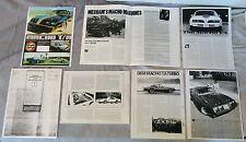 77 78 79 80 DKM Mecham Firebird Trans Am TALLON 76 Macho T/A articles + info