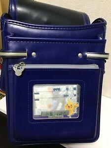 Pokemon Randoseru Japanese backpack Bag Japan Blue school