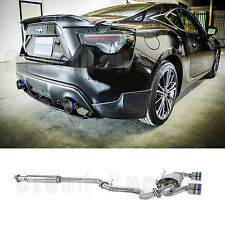 2013-2017 Stainless Dual Burn Tip Catback Exhaust For Scion FRS GT86 Subaru BRZ