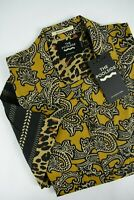RRP€79 SCOTCH & SODA THE POOL SIDE Men's X LARGE Vibrant Regular Shirt 3378*mm