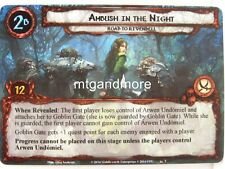 Lord of the Rings LCG - 1x Ambush in the Night #002 - Nightmare Deck Road to R