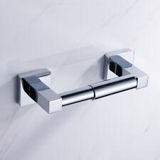 Chrome toilette rouleau papier tissu porte salle de bain mural accessoire