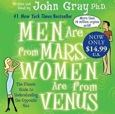 Men Are from Mars, Women Are from Venus by John Gray (2007, CD, Abridged)