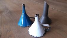LOT ENTONNOIR ANCIEN EMAILLE CUISINE