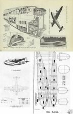SHORT EMPIRE C CLASS FLYING BOAT MANUAL & REPORT BOAC RARE Archive