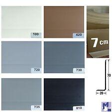 XL auto-adhésif PVC souple SK Plinthe Profil Plastique Kink 7 cm de hauteur