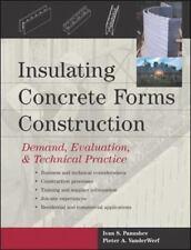 Insulating Concrete Forms Construction : Demand, Evaluation, & Technical Practic