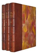 SIREN O. Léonard De Vinci L'artiste et L'homme. 3 Volumes (complet).