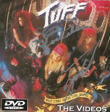 """Tuff """"What Comes Around Goes Around"""" 1991 DVD signed Stevie Rachelle Todd Chase"""