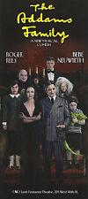 "Bebe Neuwirth ""ADDAMS FAMILY"" Roger Rees / Andrew Lippa 2011 Broadway Flyer"