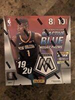 2019-20 Panini Mosaic Mega Box NBA Prizm Zion Luka Morant Herro LeBron Silver?