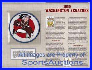 1960 WASHINGTON SENATORS ~ Willabee & Ward COOPERSTOWN COLLECTION BASEBALL PATCH