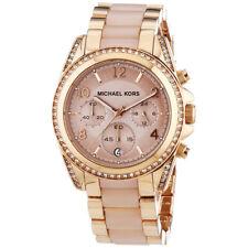 Michael Kors MK5943 Blair Chronograph Rose Gold Stainless Steel Women's Watch